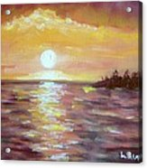Kona Sunset Acrylic Print