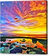 Kona Tidepool Reflections Acrylic Print