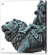 Konzerthaus Berlin - Lion Sculpture  Acrylic Print
