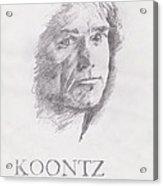Koontz Acrylic Print