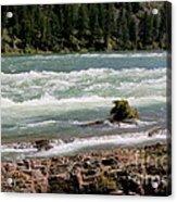 Kootenai Falls Montana Acrylic Print