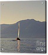 Kootenay Lake Sailing Acrylic Print