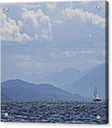 Kootenay Sail Acrylic Print