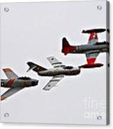 Korean War Flight Acrylic Print