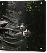Korean War Veterans Memorial - Washington Dc - 01131 Acrylic Print by DC Photographer