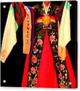 Korean Woman Dancer Acrylic Print