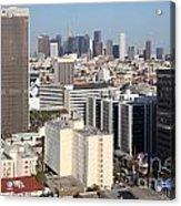 Koreatown Area Of Los Angeles California Acrylic Print