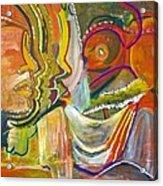 Koulikoro Woman Acrylic Print