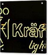 Kraftig Light 1 Acrylic Print