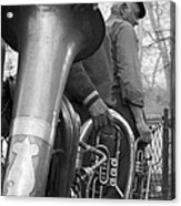 Krakow Brass Buskers Acrylic Print
