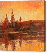 Krakow - Wawel Impression Acrylic Print