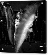 Krewe Delusion Parade Night Dancer Acrylic Print by Louis Maistros