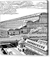 Krupp's Factory, Essen  Machine Shop Ix Acrylic Print