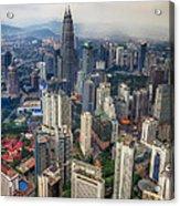 Kuala Lumpur City Acrylic Print