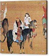 Kublai Khan Hunting Acrylic Print