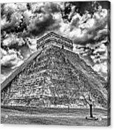 Kukulcan Pyramid V2 Acrylic Print