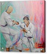 Kumite Acrylic Print