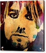 Kurt Cobain 3 Acrylic Print
