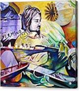 Kurt Cobain- It Aint Medicine Kurt Acrylic Print