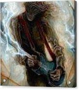 Kurt Cobain Zombie Acrylic Print