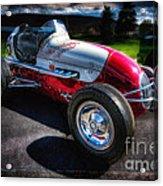 Kurtis Kraft Racer Acrylic Print