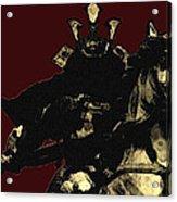Kusunoki Masahige In Battle Acrylic Print by Jeff DOttavio