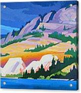 Kvr Railway Bluff Naramata Acrylic Print