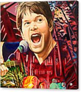 Kyle Hollingsworth At Hornin'gs Hideout Acrylic Print