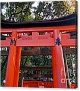 Kyoto Fushimi Shrine-4 Acrylic Print