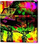 Mood Changing Medicine Power Of Music Acrylic Print