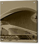 L' Hemisferic - Valencia Acrylic Print by Juergen Weiss