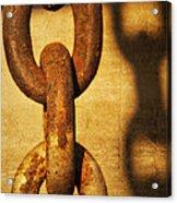 L I N K S Acrylic Print by Charles Dobbs
