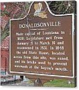 La-032 Donaldsonville Acrylic Print