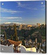 La Alhambra Granada Spain Acrylic Print