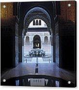 La Alhambra Patio De Los Leones Acrylic Print