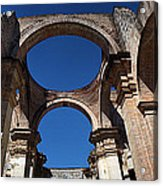 La Antigue Cathedral Ruin Acrylic Print