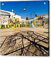La Boca Graffiti Acrylic Print
