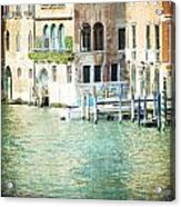 La Canal - Venice Acrylic Print