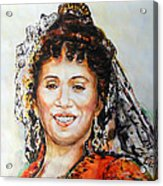 La Carmencita Acrylic Print
