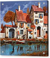 La Cascina Sul Lago Acrylic Print