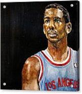 La Clippers' Chris Paul  Acrylic Print