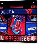 La Clippers Turkish Heritage Acrylic Print by RJ Aguilar