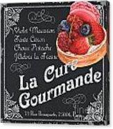 La Cure Gourmande Acrylic Print