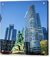 La Defense Memorial Acrylic Print