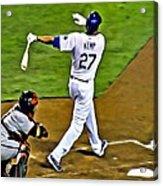 La Dodgers Matt Kemp Acrylic Print