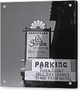La Fonda  Acrylic Print