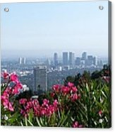 L.a. From Beverly Hills Acrylic Print