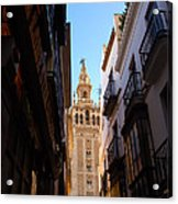 La Giralda - Seville Spain  Acrylic Print