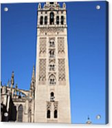 La Giralda Bell Tower In Seville Acrylic Print