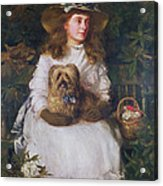 La Jeunesse, 1884 Acrylic Print